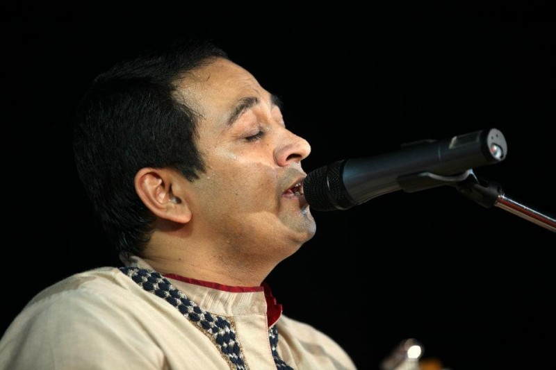 Vikram Hazra singing