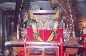 Sai Baba's Padukas and Satka