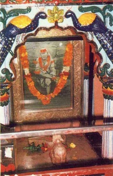 Gurusthan Sai Baba's portrait